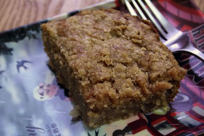 Pear Spice Coffee Cake