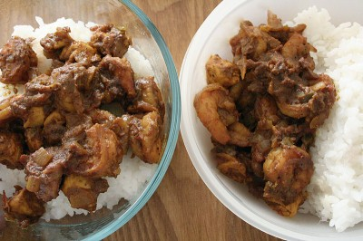 Jamaican Chicken & Shrimp Curry